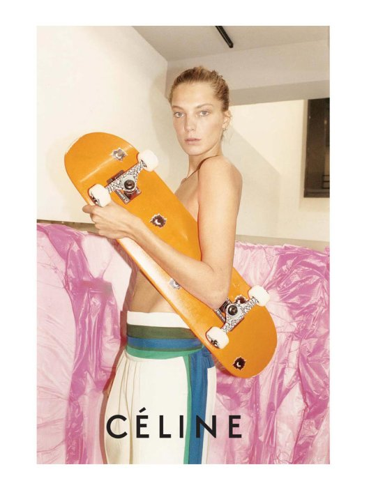 celine campaign 2011, photographed by juergen teller