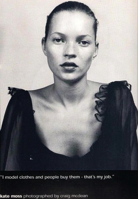 kate moss by craig mcdean