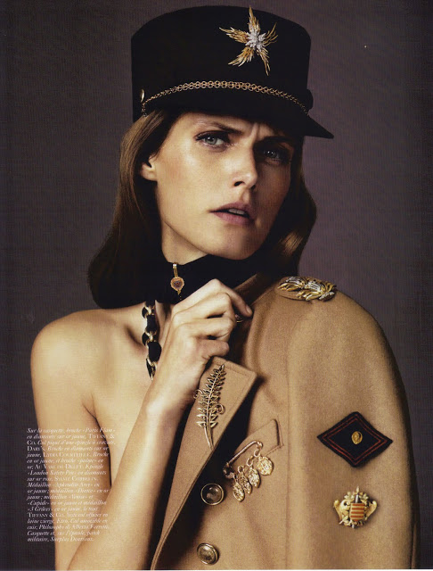 Josh Olins FOR VOGUE PARIS AUGUST 2010