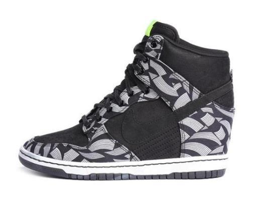 nike-liberty-dunk-sky-hi-black-white-bolt-wedge-trainers-sneakers