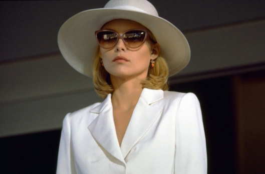 Michelle Pfeiffer in Scar Face..favorite for style