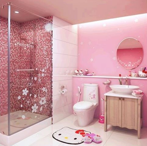 hello kitty interior