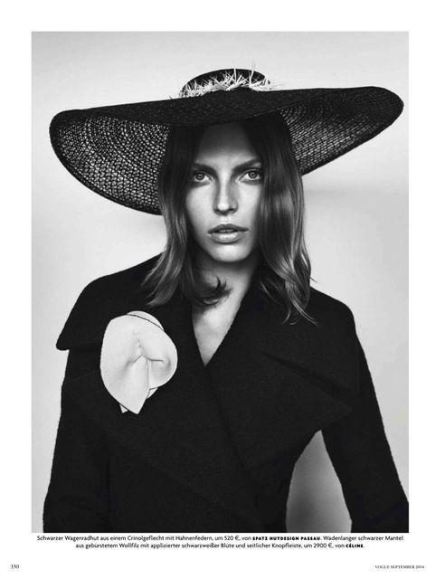 Blaise Reutersward, Vogue Germany September 2014