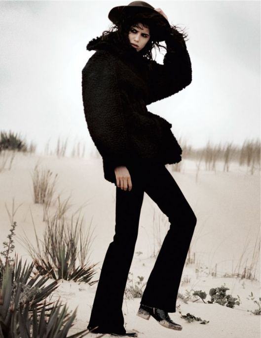 Vogue Paris September 2014 Photographed by David Sims