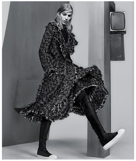 Photo by Craig McDean styled by Joe McKenna for T Magazine's September 2014 issue