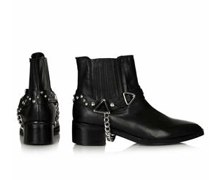 Top Shop Avatar Harness Boots, $130.00